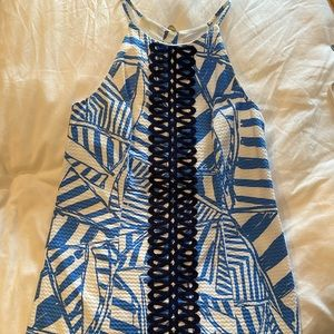 ‼️NWOT‼️ Lilly Pulitzer High-Neck Shift Dress